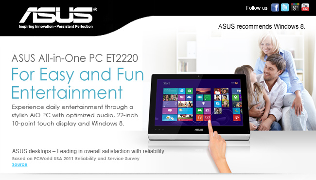 Where to buy the ASUS All-in-One PC: